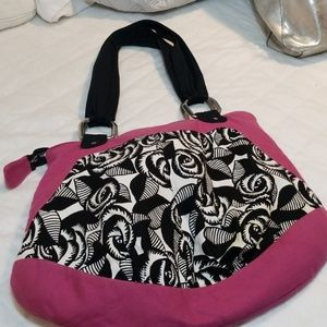 1154 Lill Studio Bags - 1154 LILL Studio hobo pink and black bag
